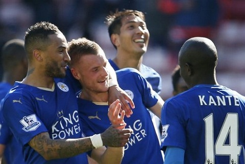 Leicester chinh thuc doat ve du Champions League 201617 hinh anh