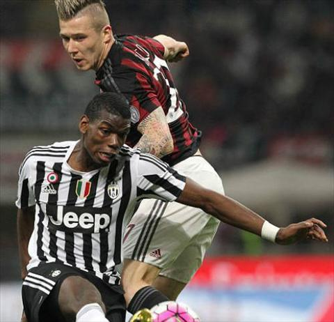 Video clip ban thang AC Milan 1-2 Juventus (Vong 32 Serie A 20152016) hinh anh