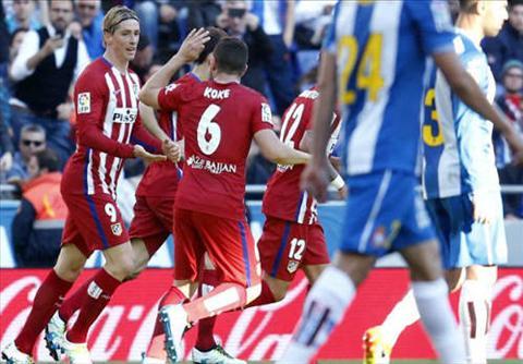 Video clip ban thang Espanyol 1-3 Atletico Madrid (Vong 32 La Liga 20152016) hinh anh