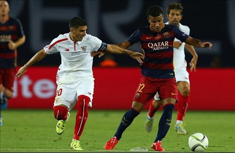 Rafinha Barcelona vs Sevilla