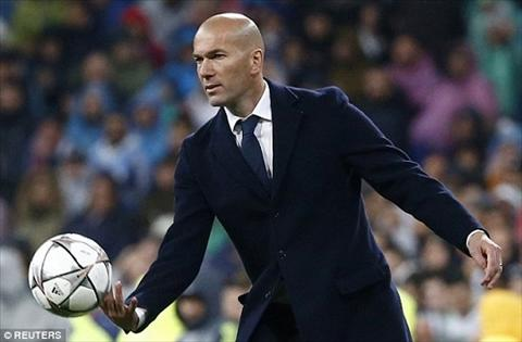 HLV Zidane phan khich mung Real chien thang1