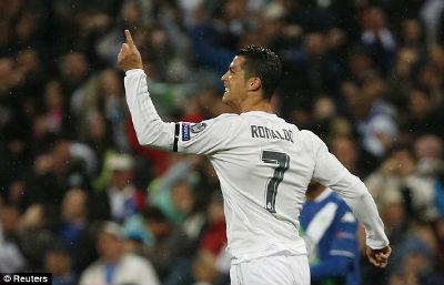 Video clip ban thang Real Madrid 3-0 (3-2) Wolfsburg Champions League hinh anh