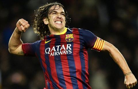 Carles Puyol huyen thoai cua Barcelona