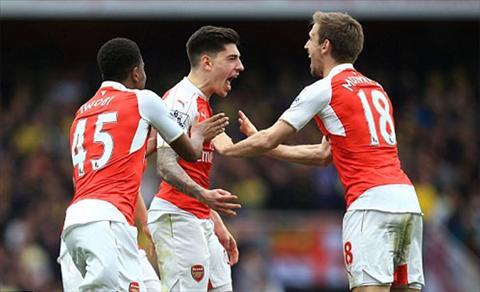 Arsenal lai choi hay khi ma muc tieu khong con nhieu. Anh: AP