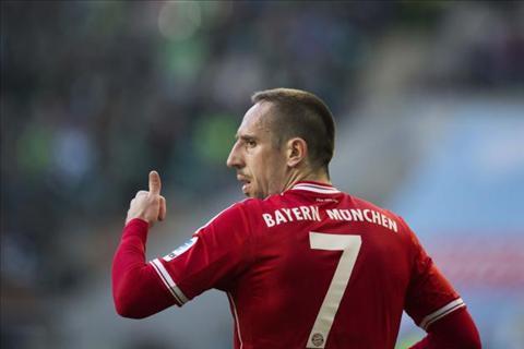 Bayern phu nhan chuyen gia han voi tien ve Franck Ribery hinh anh 2