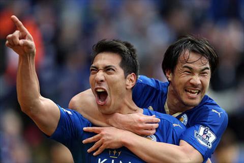 Video clip ban thang Leicester 4-0 Swansea (Vong 35 Premier League 20152016) hinh anh