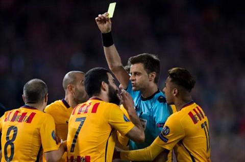 Trong tai chinh thuc thua nhan sai sot tran Atletico 2-0 Barca hinh anh