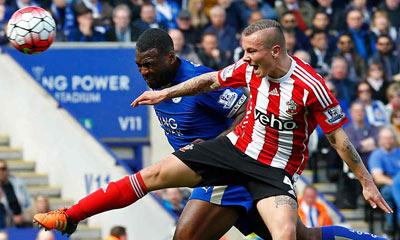 Video clip ban thang Leicester 1-0 Southampton (Vong 32 Premier League hinh anh