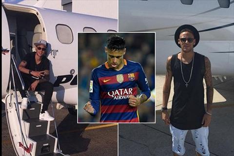 Tay choi Neymar vung tien sam chiec may bay thu hai hinh anh 2