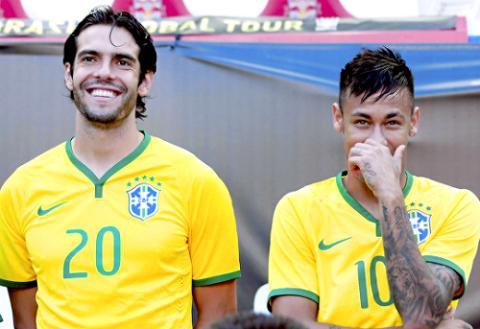 Kaka tro lai DT Brazil de chuan bi du Copa America