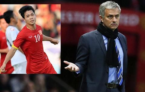 Cong Phuong, Tuan Anh chuan bi doi dau Mourinho hinh anh