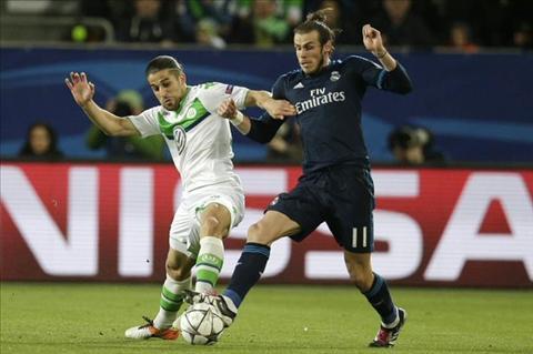 Bale Wolfsburg vs Real