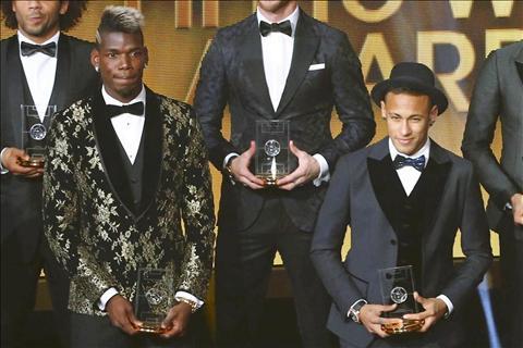 Neymar thua nhan dang co loi keo Paul Pogba ve Barcelona hinh anh