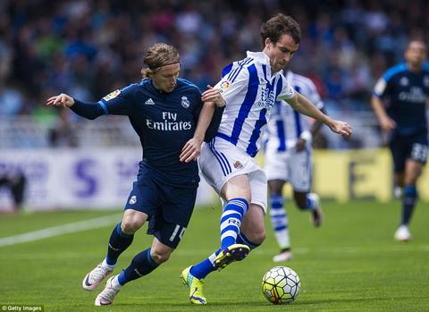 Bale ghi ban duy nhat, Real Madrid thang nhoc Sociedad hinh anh 2