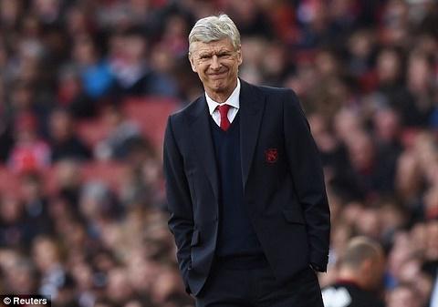 Wenger chang he to ra hoi loi du Arsenal lien tuc trang tay