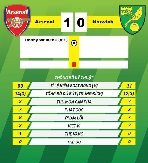 Du am Arsenal 1-0 Norwich Nhung cam xuc muc nat hinh anh 3