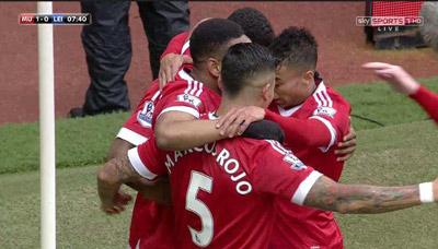 Man Utd 1-1 Leicester