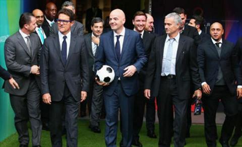 Chu tich FIFA ra lenh Jose Mourinho phai tai xuat ngay tuan nay hinh anh