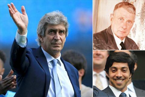 HLV Pellegrini duoc Man City tri an buc tranh quy hinh anh