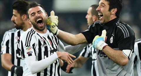 Buffon va Bazagli la hai cong than quan trong o Juventus
