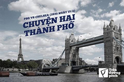 PSG VA CHELSEA: CHUYEN CUA 2 THANH PHO