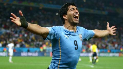DT Uruguay du Copa America 2016 Co ngoi sao Luis Suarez hinh anh
