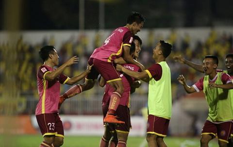 Video clip ban thang Sai Gon 3-1 FLC Thanh Hoa (Vong 10 V-League 2016) hinh anh