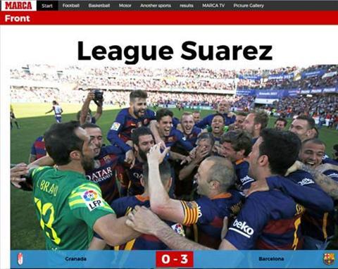Barca bao ve thanh cong ngoi Vuong La Liga, Suarez duoc khen het loi hinh anh