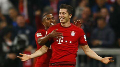 Video clip ban thang Bayern Munich 3-1 Hannover (Vong 34 Bundesliga 201516) hinh anh