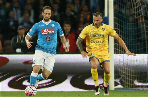 Higuain Napoli vs Frosinone