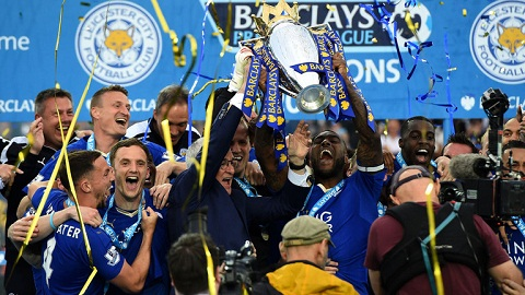 Leicester vo dich Premier League 201516, nhan bao nhieu tien thuong hinh anh