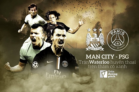 Man City vs PSG Tran Waterloo huyen thoai tren tham co xanh  hinh anh