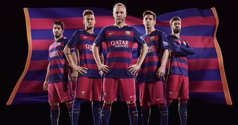 Barcelona se tiep tuc hop tac voi Nike trong 10 nam toi