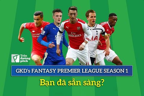Chính thức phát động giải đấu GKD's Fantasy Premier League Season 1 (2015 - 2016)