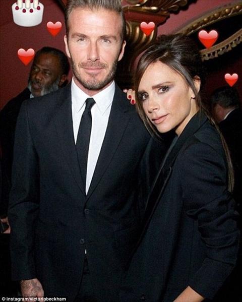 David Beckham don sinh nhat 41 ngap tran hanh phuc hinh anh