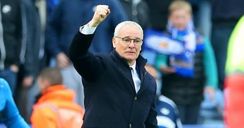 Nhung phat ngon an tuong nhat cua HLV Ranieri mua nay hinh anh