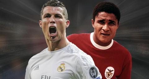 Cris Ronaldo sap can bang ky luc voi huyen thoai Eusebio hinh anh