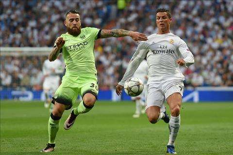 Otamendi Ronaldo Real vs Man City
