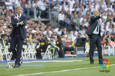 HLV Pellegrini cho rang Real Madrid khong xung dang di tiep