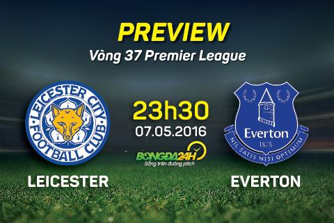 Leicester vs Everton hinh anh