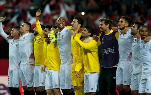 Video clip ban thang Sevilla 3-1 Shakhtar Donetsk (Luot ve ban ket Europa League 20152016) hinh anh