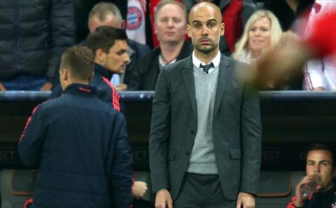 NONG Pep Guardiola to bi noi gian o Bayern dam sau lung hinh anh