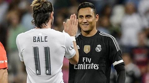Real nhan tin buon tu Bale va thu mon Keylor Navas hinh anh