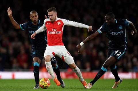 Ramsey Man City vs Arsenal
