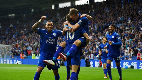 Du am Leicester 3-1 Everton Nha vo dich xung dang hinh anh