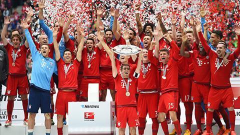Bayern tiep tuc giuong cao Dia bac