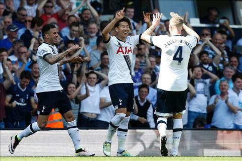 cau thu Tottenham Son
