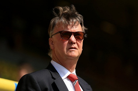 Louis van Gaal se co vu Arsenal danh bai Man City