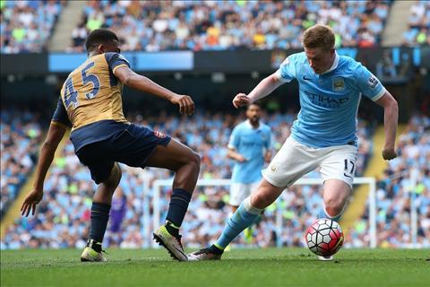 De Bruyne Iwobi Man City vs Arsenal