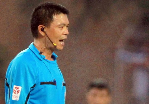 Trong tai Ha Anh Chien bi VPF danh gia la te hai.